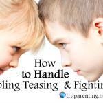 handle siblings teasing graphic