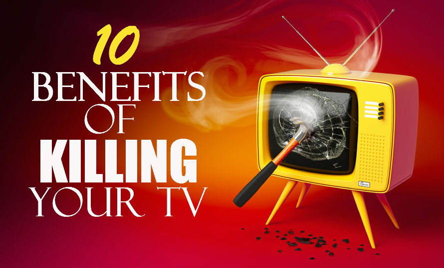 killing your tv graphic bold