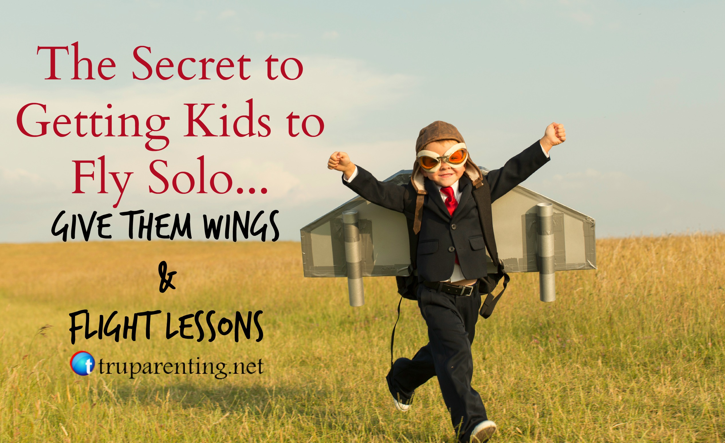 getting kids to fly solo