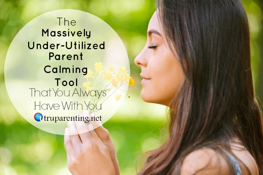 underutilized parent calming tool